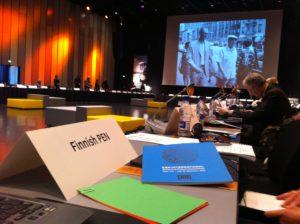 PEN International Main Assembly