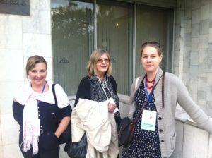 Iida Simes, Elisabeth Nordgren och Leena Parkkinen. Foto: Jarkko Tontti