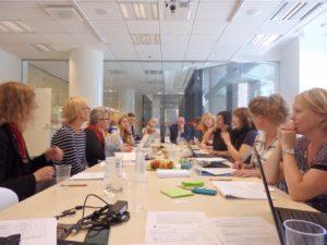 Ensimmäinen kokouspäivä 8.9.2016.