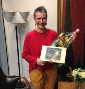 Sunniva Drake fick Finlands PENs sjätte yttrandefrihetspris.