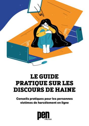 Vihapuhetyökalupakin ranskankielisen version kansi