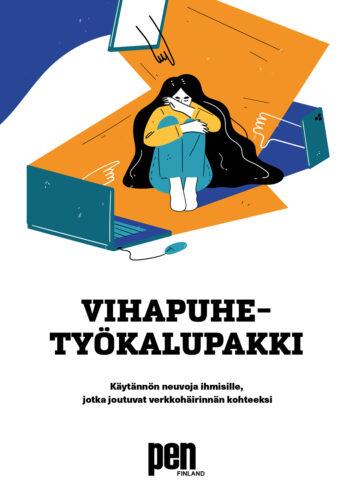 Vihapuhetyökalupakin suomenkielisen version kansi